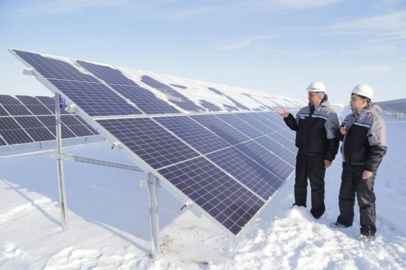 Четвёртая солнечная электростанция заработала в Карагандинской области