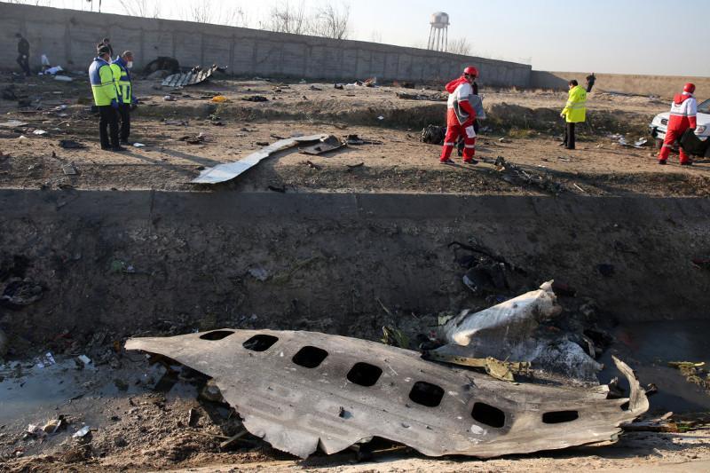 Тегерандағы ұшақ апаты: Украиналық сарапшылар оқиға орнында жұмыс істеуде