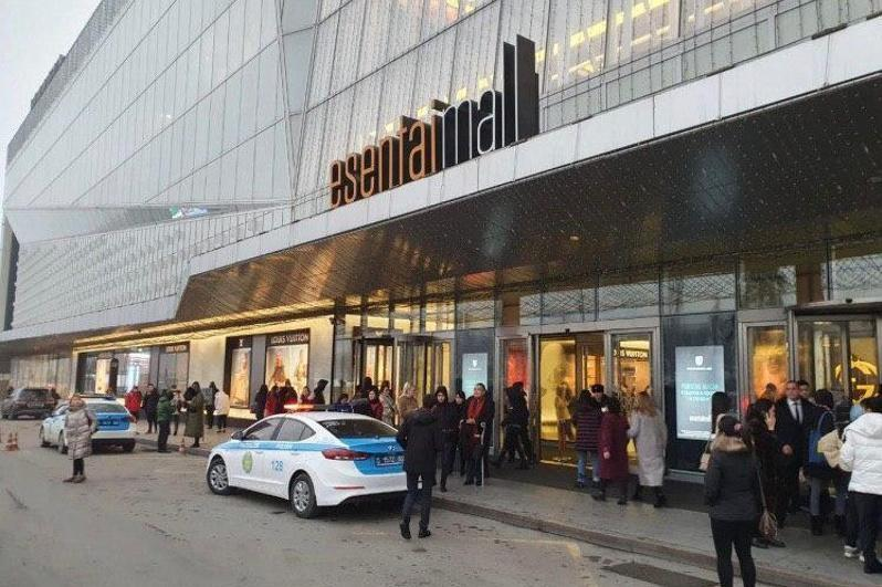 People evacuated from Almaty's Esentai Mall over bomb threat