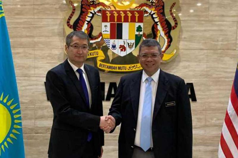 Kazakhstan and Malaysia compare notes on topical issues of bilateral and multilateral cooperation