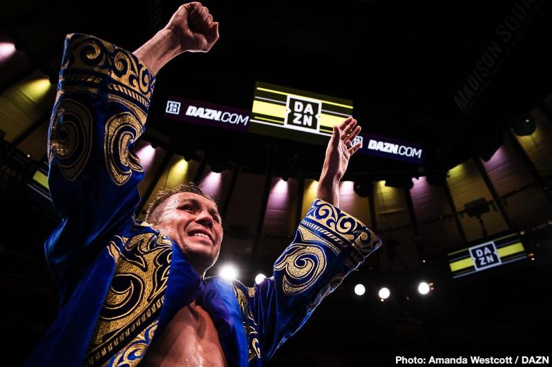 GGG to hold his next fight Mar 28