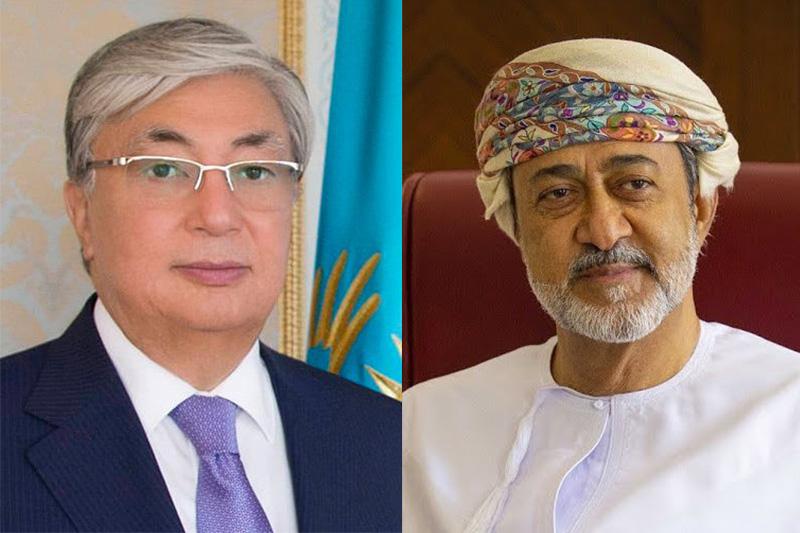 Қазақстан Президенті жаңадан тағайындалған Оман Сұлтанын құттықтады