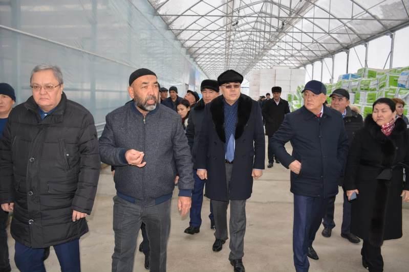 Мажилисмены посетили предприятия Сарыагашского района Туркестанской области