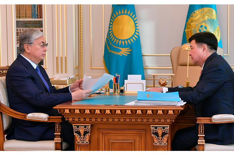 Head of State receives Chairman of Supreme Court