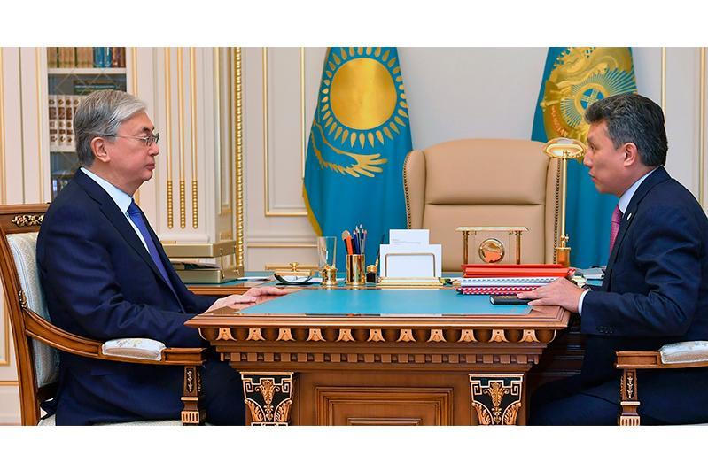 总统接见贸易和一体化部部长