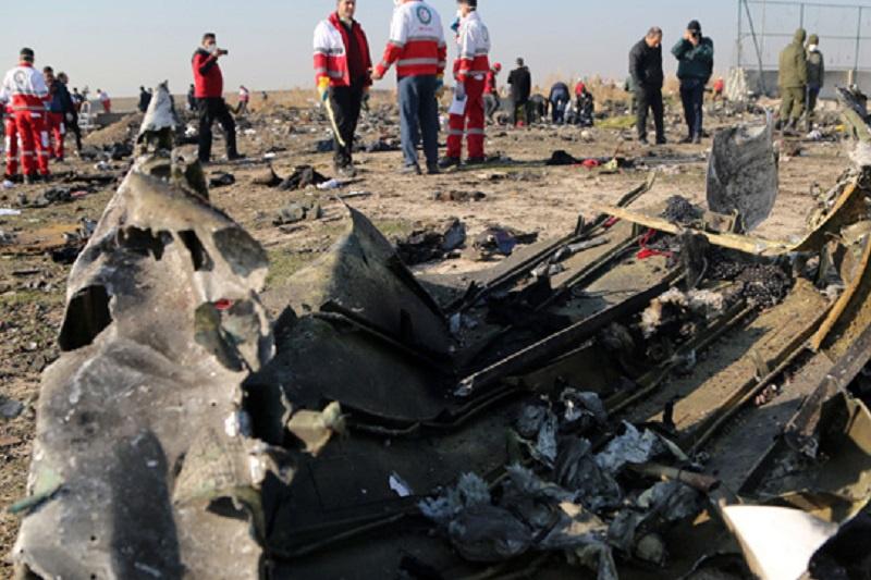 Ирандағы ұшақ апаты: Украина үш бап бойынша тергеуді бастады