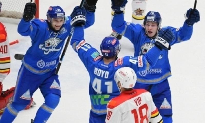 Назван самый опасный хоккеист «Барыса» в неравных составах