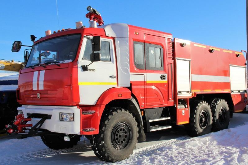 Пожарную машину пытались незаконно ввезти в Казахстан