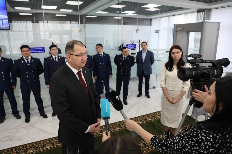 Центр приема граждан открылся при прокуратуре Атырауской области