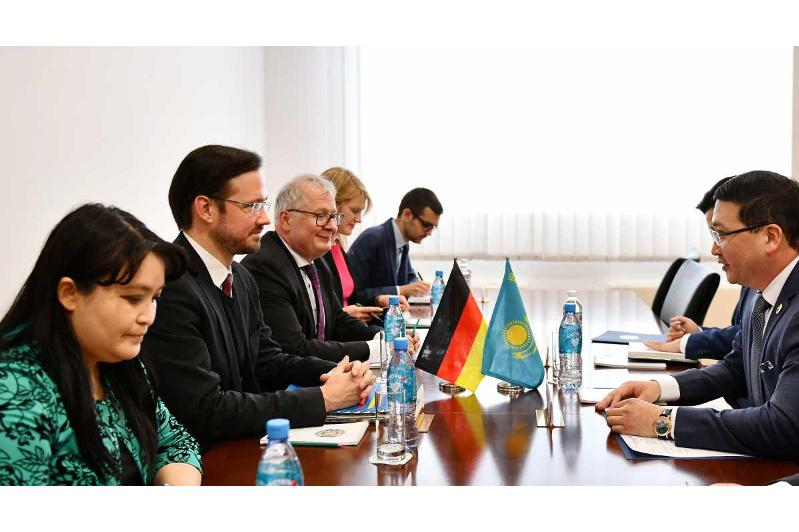 Kazakh MFA discusses implementation of agrts concluded during President Tokayev's visit to Berlin