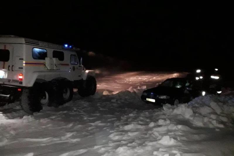 20 рыбаков вызволили из снежного плена костанайские спасатели