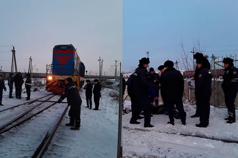 В Павлодаре мужчина попал под тепловоз