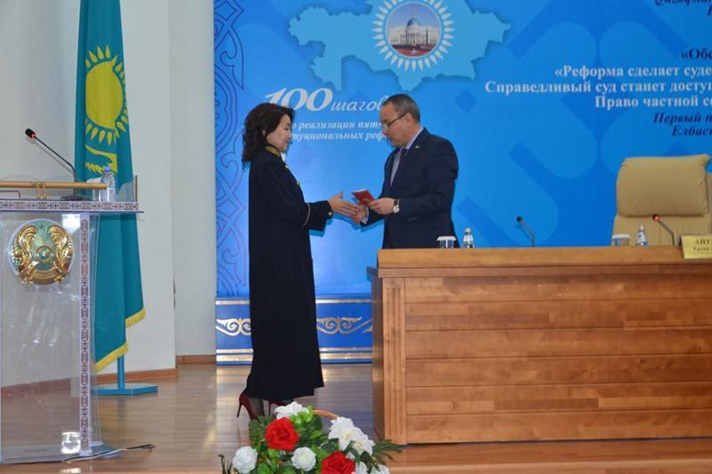 Новых судей представили в Северо-Казахстанской области