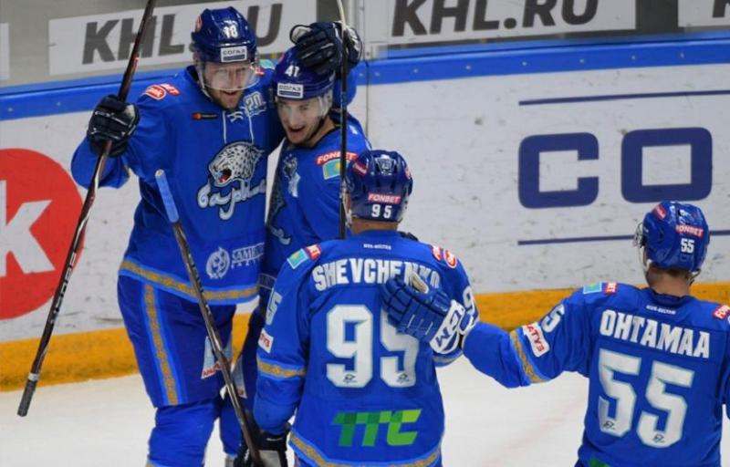 «Барыс» обыграл «Салават Юлаев» в матче КХЛ