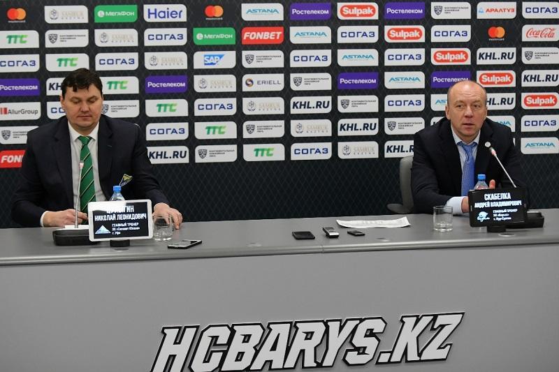 Непросто нам было - Главный тренер «Барыса» о победе над «Салаватом Юлаевым»