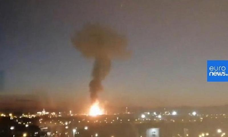 В Испании прогремел взрыв на химическом кластере