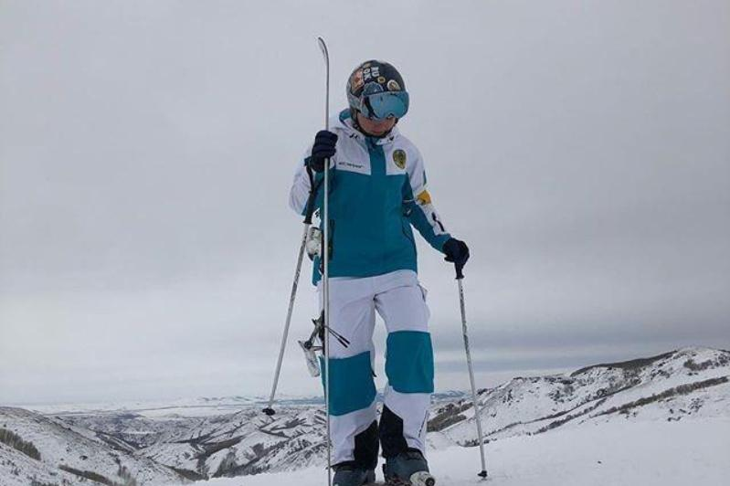 哈萨克斯坦选手获得自由式滑雪空中技巧欧洲杯第二枚金牌