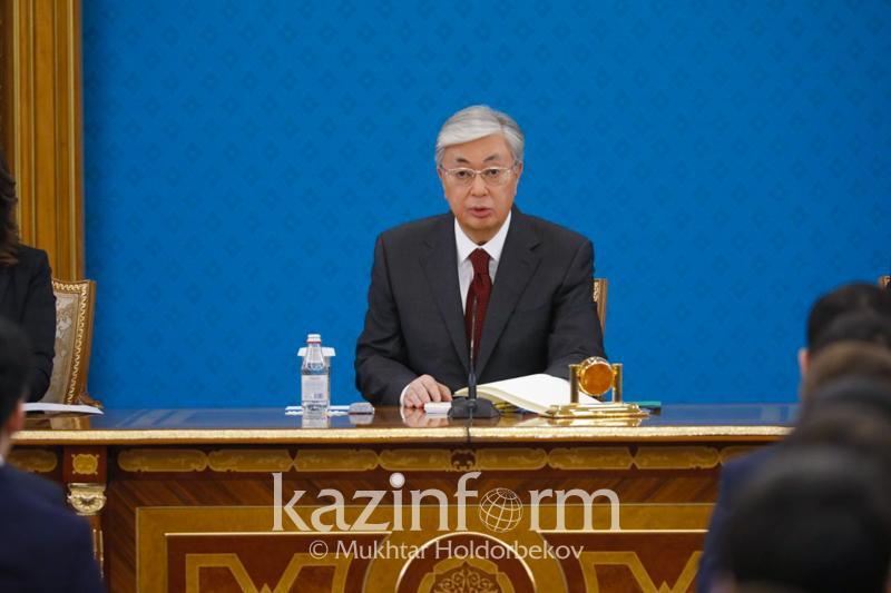 Президенттің кадр резерві жас буынның жауапты қызметке келуі үшінжасалды - Тоқаев