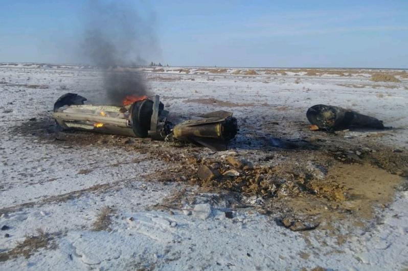 По предварительным данным, найденные в Актюбинской области обломки принадлежат геофизической ракете - Минобороны РК