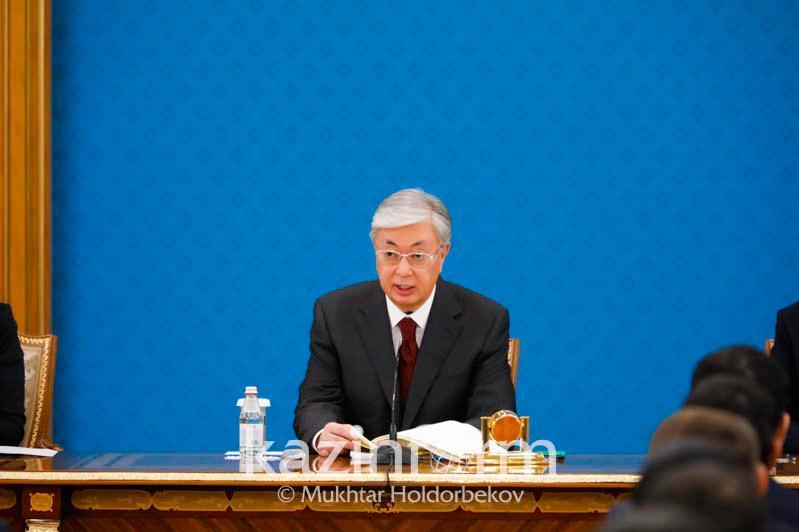 Мемлекеттік аппаратта 500-ден астам өзгеріс болды - ҚР Президенті