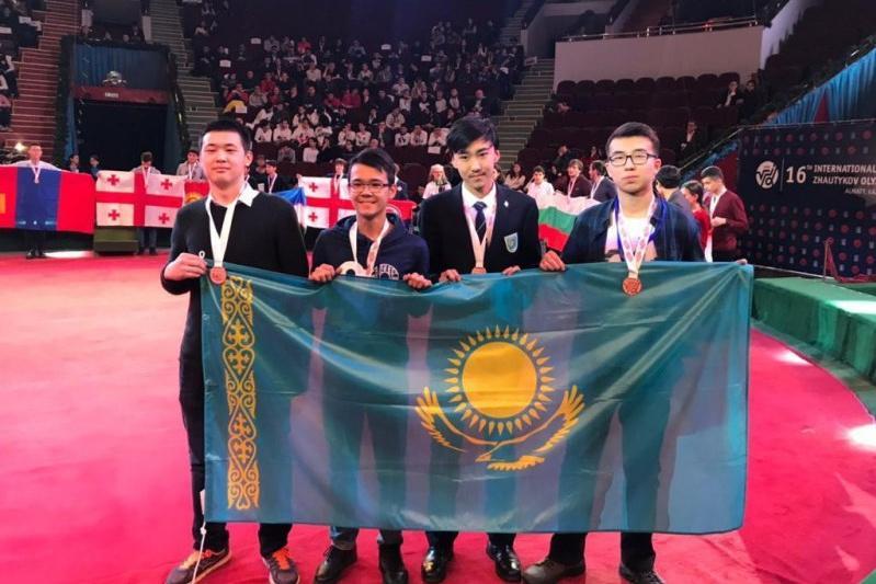 Елордалық оқушылар халықаралық Жәутіков олимпиадасында 11 медаль жеңіп алды