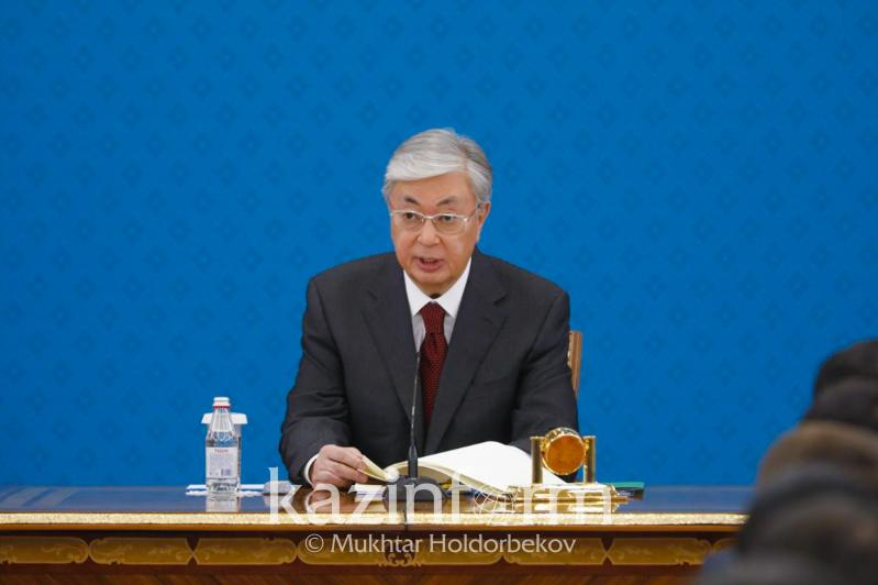 Tokayev urges reps of Presidential youth personnel reserve to partake in volunteering