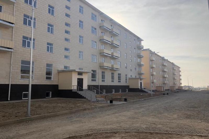 Около шести тысяч квартир введено в эксплуатацию в Туркестане