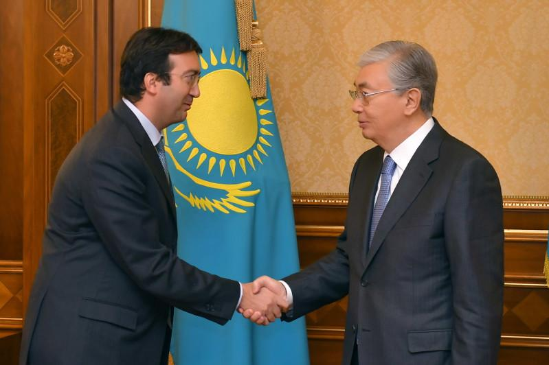 President Tokayev receives GRECO's Executive Secretary