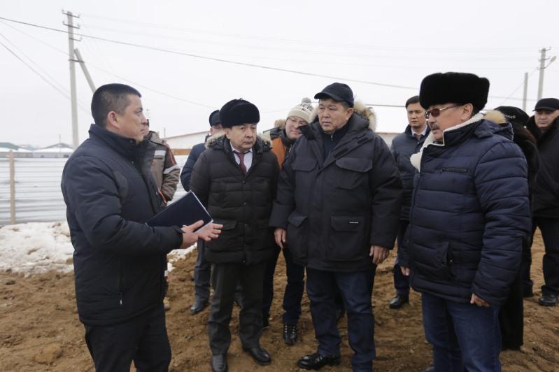С социальными объектами нефтяного района ознакомился аким Атырауской области