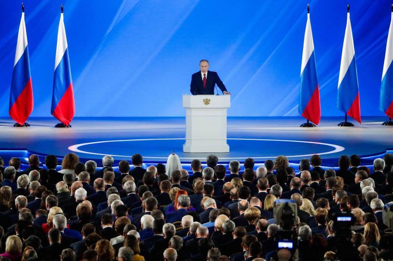 俄罗斯总统普京在国情咨文中提议修宪