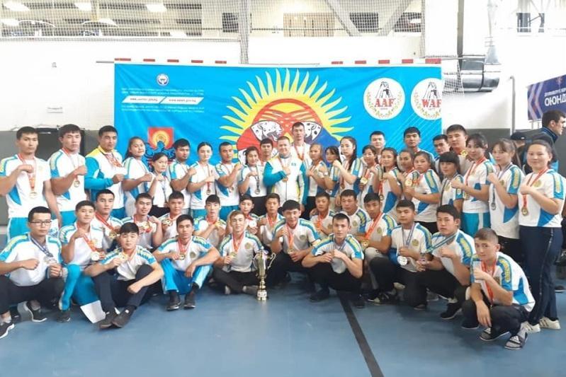 Туркестанские спортсмены завоевали на чемпионатах около 400 золотых медалей
