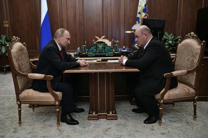 普京提名联邦税务局长出任俄罗斯新总理