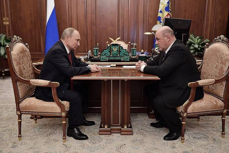 Putin proposes candidacy of Federal Tax Service chief Mishustin for PM