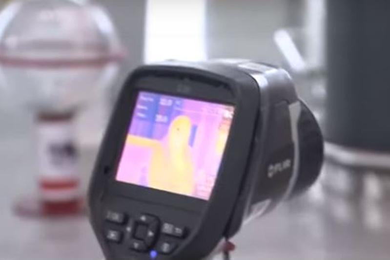 В Нур-Султане прибывающих из Китая пассажиров сканируют тепловизором