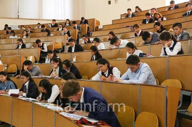 哈萨克斯坦全国统一高考1月份考试今日开始