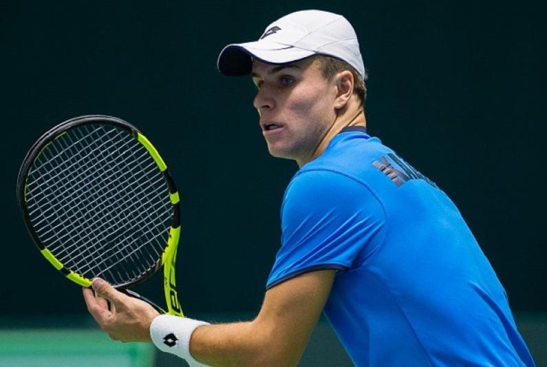 澳网男单资格赛:哈萨克斯坦选手顺利闯过首轮