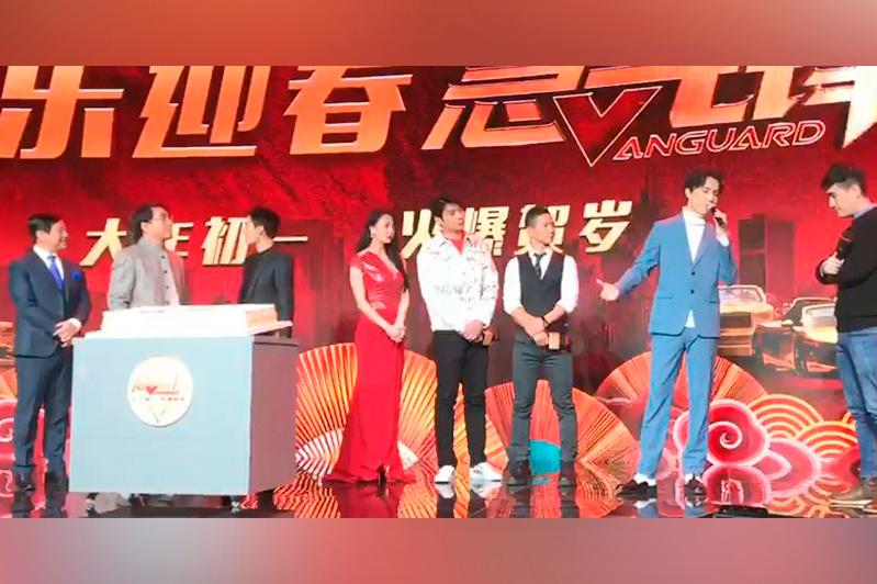 Dimash Kudaibergen performs soundtrack for Jackie Chan's new film