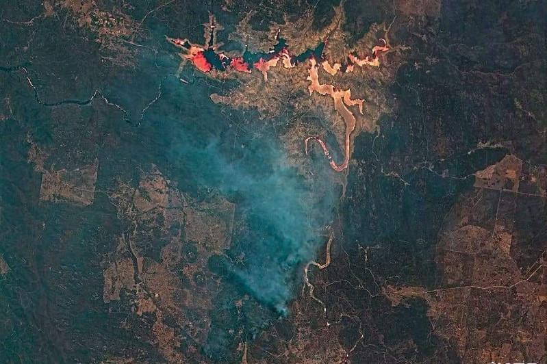 Казахстанские спутники ДЗЗ запечатлели пожары в Австралии