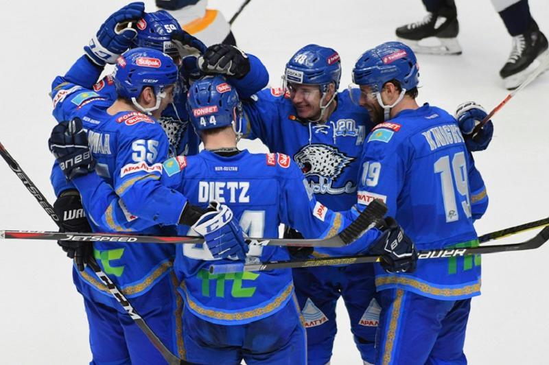 «Барыс» победил магнитогорский «Металлург» и выиграл третий подряд матч КХЛ