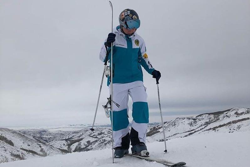 哈萨克斯坦选手夺得自由式滑雪空中技巧欧洲杯赛第三枚奖牌