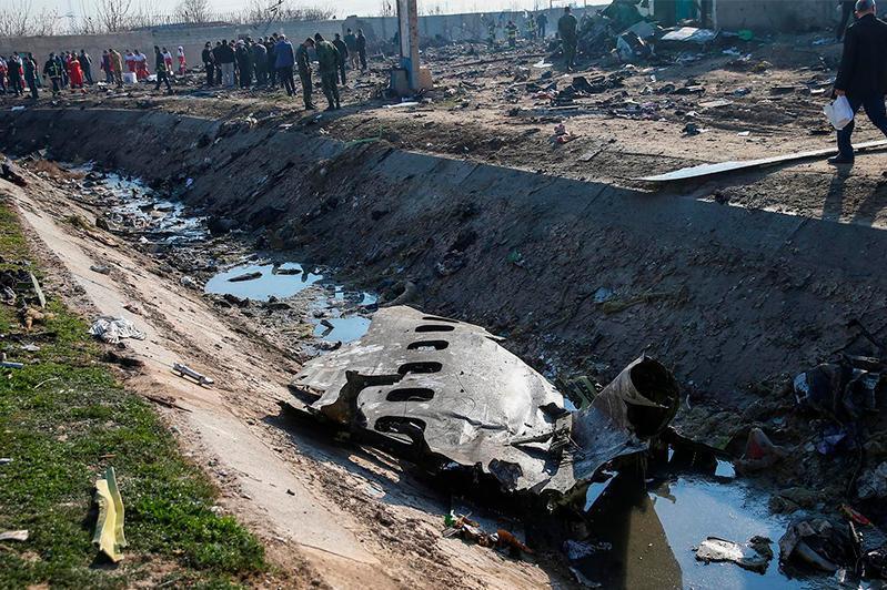 伊朗将向乌克兰移交坠机遇难者遗体