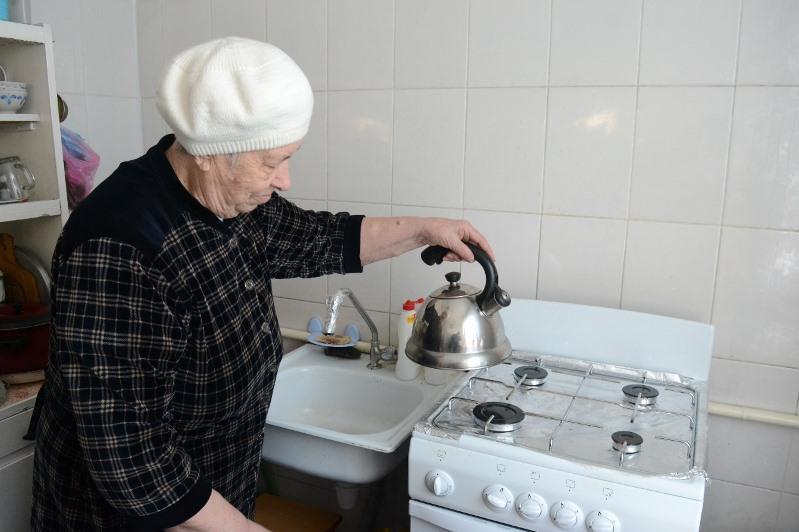 В многоэтажные дома Туркестана пришел газ