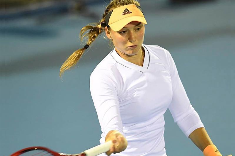 Теннисші Елена Рыбакина Хобарт турнирінің финалына шықты