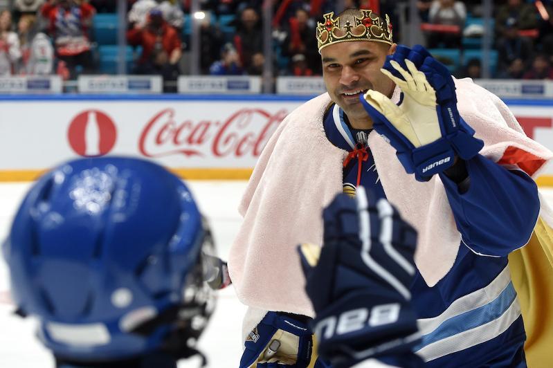КХЛ назвала форварда сборной Казахстана Найджела Доуса королем Матчей звезд