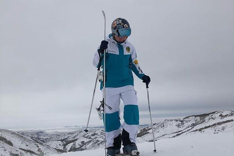 Фристайл-могулдан Еуропа кубогі: Қазақстандық спортшы үшінші «алтынын» иеленді