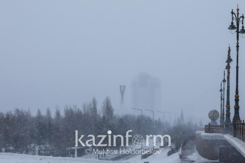 Kazakh capital to brace for snowstorms