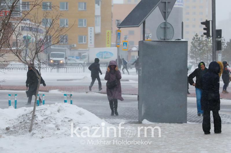 Snowstorm to persist in Kazakhstan Jan 18