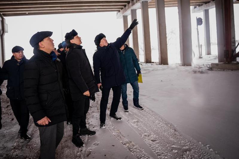 «Горбатый мост» столицы обследуют для проведения капремонта
