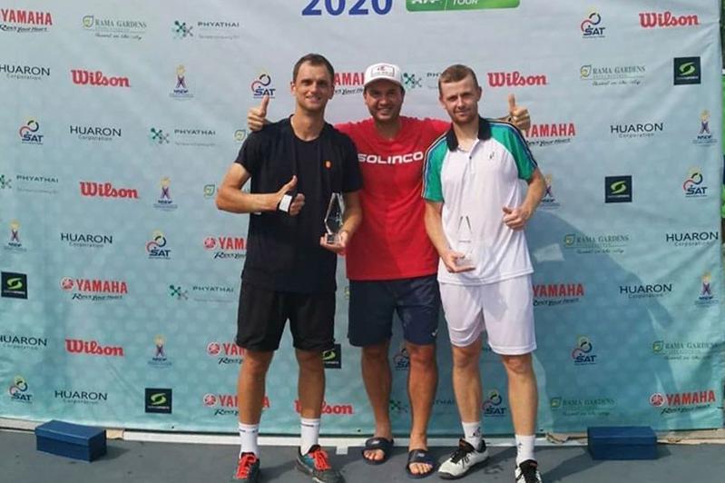 Теннис: Голубев пен Недовесов Бангкок турнирінің чемпионы атанды