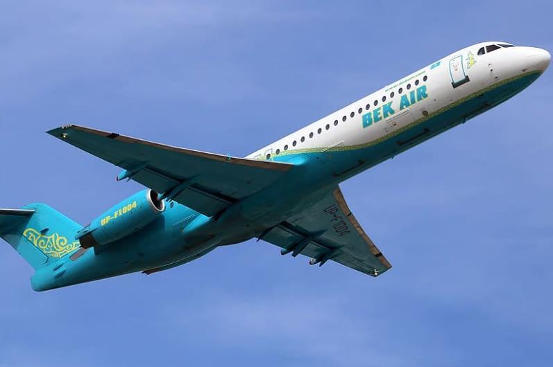 IATA отозвала код обозначения у авиакомпании Bek Air